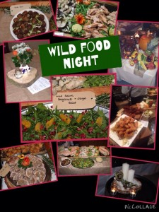 wild food night Fuchsia Lane Farm